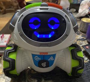 Robo Mobi Robot English Learning Educational Kids Fisher-Price Toddler Toy White