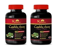 Aloe Vera capsules - CANDIDA AWAY PLUS - stomach ulcers - immune support - 2 B