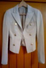 Pinko Beige Short Blazer Size XS UK 6 - 8 in Good Condition