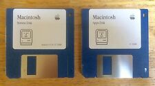 Apple Macintosh System 6.0.8 and Apps floppy disk and for Plus, SE and Classic