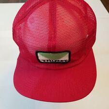 Thimet Hat Vintage trucker Full mesh snapback K Brand Made Usa Red Farming