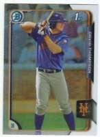 2015 Bowman Draft Chrome Prospect Refractor #124 David Thompson Mets