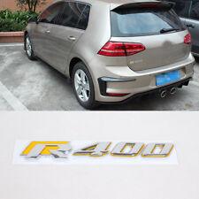 Car Chrome 3D R400 Emblem Car Badge Sticker Fit For Volkswagen VW Golf 7 VII MK7