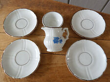 Germany 6 Porcelain Play Dishes for Children - Kahla German Democratic Republic