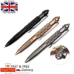 1x Tactical Pen Self Defense Police Military Emergency Gear Window Breaker-