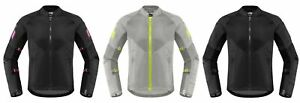 Icon Women's Mesh AF Textile Jacket for Motorcycle Street Riding