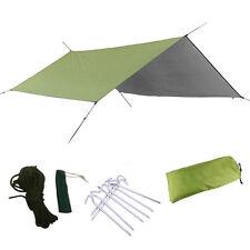 Portable Lightweight Camping Tent Tarp Shelter Mat Hammock Cover Waterproof Gear