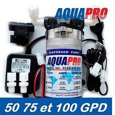 Pompe Booster AQUAPRO pour Membrane 50gpd-75gpd-100gpd