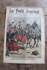 Petit journal dibujada Nº969 1909 Campiña d'Italie Folie trágico camino