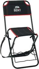 Sert Folding Chair Fishing Pier Pond Nomad with Rod Holders and Back