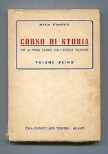Maria D'Angelo # CORSO DI STORIA Volume I Dal 1492 al 1815 Luigi Trevisini Libro