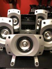 Logitech Z-5500 THX-Certified 5.1 Digital Surround Sound Speaker System READ!