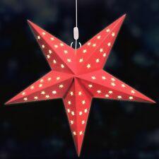 LED-Stern 40cm mit 5 LED´s Weihnachtsstern Adventsstern Fensterstern Fensterdeko