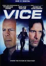 VICE (DVD, 2015) BRUCE WILLIS, THOMAS JANE, AMBYR CHILDERS ...MINT CONDITION