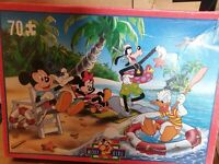 Mickey mouse 70 Piece Jigsaw Puzzle  many listed