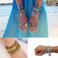 Boho Turkish Gypsy  Ethnic Tribal Ethnic Statement Bracelet Antiquek FEH