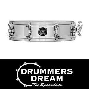 """Mapex MPX 13"""" x 3.5 Steel Piccolo Snare Drum"""