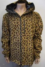 10 Deep Jacke Gr./Size. XXXL Reifverschluß Leopard