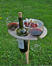 Outdoor Wine Glass Rack Holder Easy to Carry