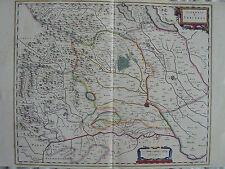 MAPPA SIGNORIA DI VERCELLI 1640 TORINO PIEMONTE NOVARA CASALE PAVIA IVREA SESIA