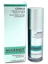 ALGENIST GENIUS ULTIMATE ANTI-AGING VITAMIN C SERUM 1 OZ NEW BOX -AMAZING!
