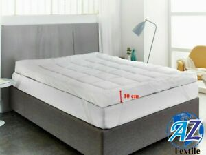 10cm Microfiber Mattress Topper Anti Allergic Luxury Quality Extra Soft All Size