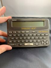Franklin Spelling Ace Model Sa-98 With Thesaurus Tested. Works.
