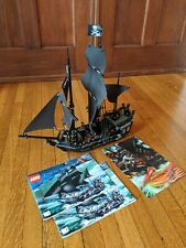 LEGO 4184 BLACK PEARL Pirates of the Caribbean Figures Instructions Poster
