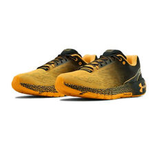 Under Armour Mens Hova Machina Running Shoes Trainers Sneakers Black Yellow