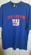 NY Giants Blue T-Shirt (Lg) NWT
