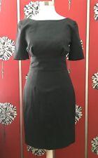 Nouveau J. CREW laine crayon robe US 0P UK 6