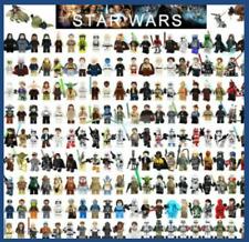 Star Wars Minifigures toys yoda ansoka anakin skywalker droid r2d2 jawa rey han