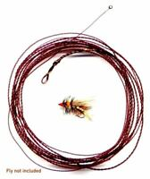 Wonderfurl Chameleon Precision Furled Tapered Fly Fishing Leader w/ Tippet Ring