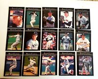 1992 Fleer Roger Clemens Career Highlights Complete 15-Card Baseball Set Red Sox
