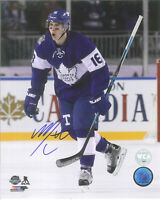COLLECTION OF 8 GREAT TORONTO MAPLE LEAFS  -  SIGNED 5x7 PHOTO REPRINTS