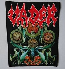 VADER THE ULTIMATE INCANTATION Backpatch Giant Back Patch Rückenaufnäher Limited