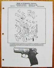 Smith & Wesson 9MM Automatic Pistol - Model 469 Manual - #SW26