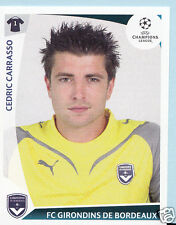 Football autocollant-panini uefa champions league 2009-10 - nº 40-bordeaux