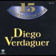 15 Kilates Musicales by Diego Verdaguer (CD ALL CD'S ARE BRAND NEW