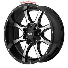 17x8 Black wheels rims MOTO METAL 970 Dodge Ram 1500 Trucks 1994-2017 5x5.5 +0MM