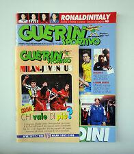 GUERIN SPORTIVO 1997- n. 14 - LA MANOVRINA DI MALDINI