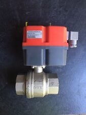 """2x Landefeld KH 20 Eli 220 électrique en laiton robinet à bille, G 2"""", 85 - 240 V AC/DC"""