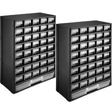 Kleinteilemagazin Sortimentskasten Sortierkasten 41 Fächer Schubladen Boxen