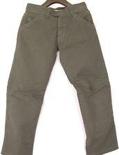 Authentic Belstaff Black Prince Mot-On Jeans Pants Military Green Denim EU 32