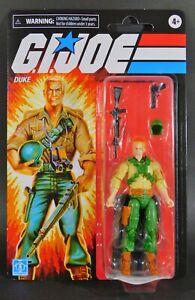 Hasbro GI Joe Duke 3.75 Inch Retro Figure Walmart Exclusive