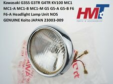 Kawasaki G3SS G3TR G4TR KV100 MC1 MC1M G5 G5-A Headlight Headlamp Unit 23003-009