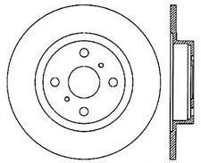 Disc Brake Rotor-Sport Drilled/Slotted Disc Rear Left fits 1987 Toyota MR2