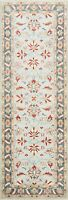 "All-Over Traditional Floral Ziegler 8 ft. Runner Rug Hand-knotted 8' 1"" x 2' 6"""