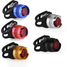 Fahrrad LED Rücklicht Lampe Wasserdicht mit CR2032 Akku Rot Licht Fahrradlicht