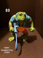 Tmnt Teenage Mutant Ninja Turtles Vintage Genghis Frog